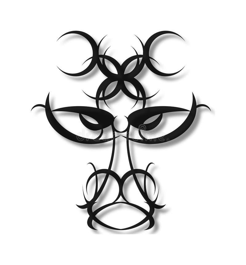 соплеменное конструкции головное иллюстрация штока