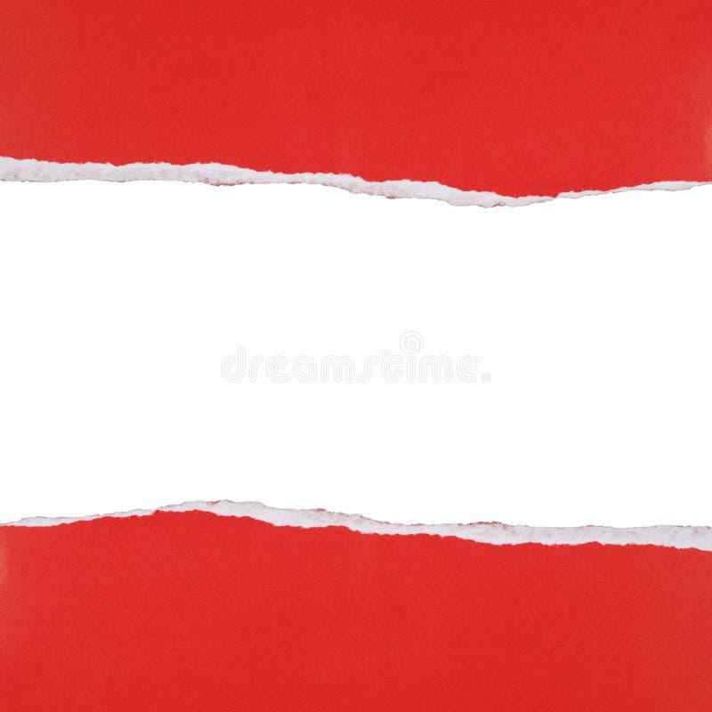 сорванная бумага предпосылки стоковое изображение