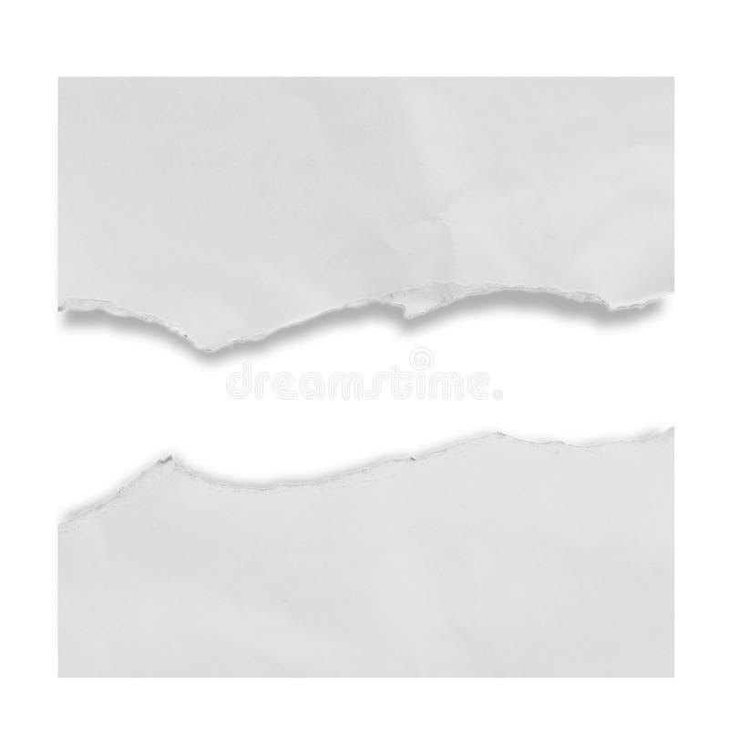 Сорванная бумага сулоя стоковое фото rf
