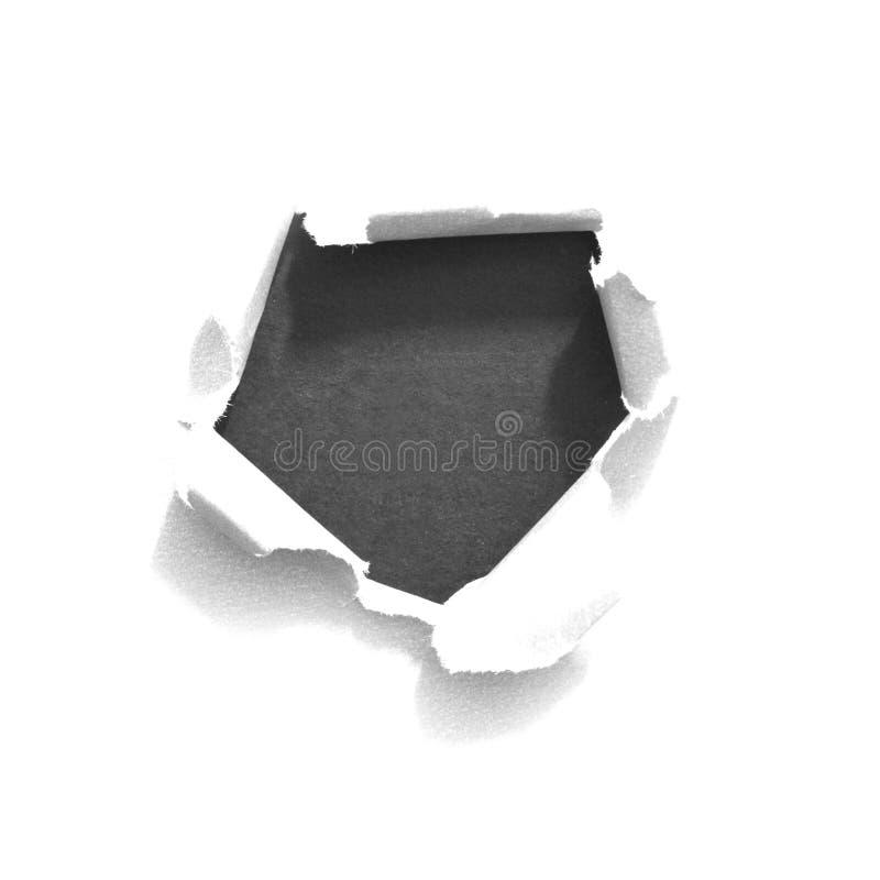 Сорванная бумага сулоя стоковое изображение