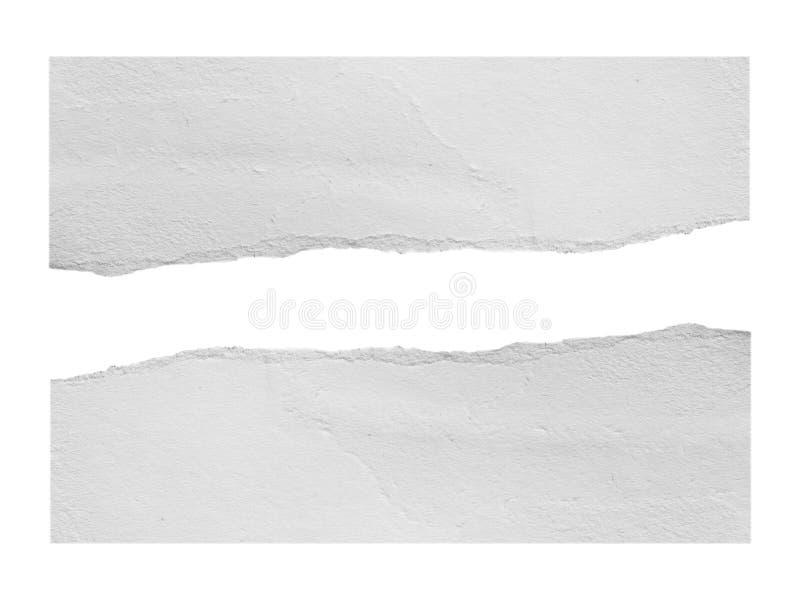 Сорванная бумага сулоя стоковая фотография rf