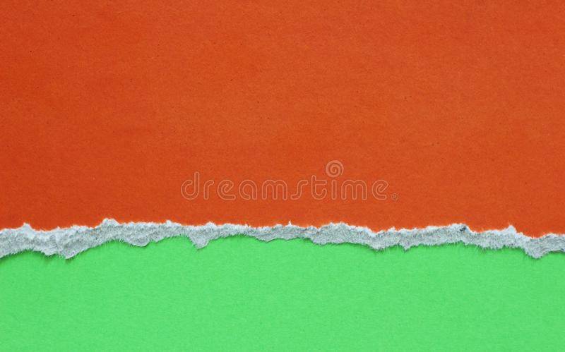 Сорванная бумага сулоя стоковое изображение rf