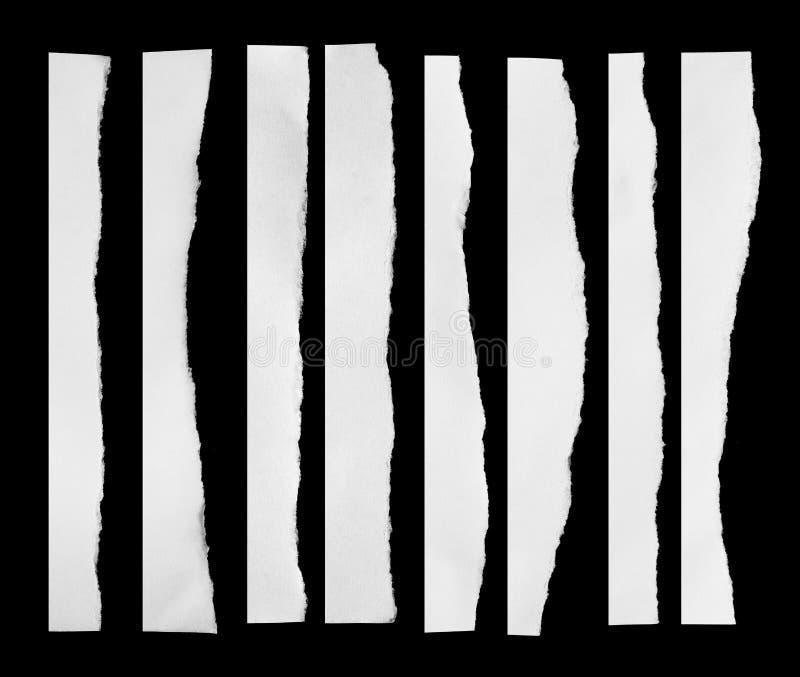 Сорванная бумага, часть сорванной бумаги стоковые фотографии rf