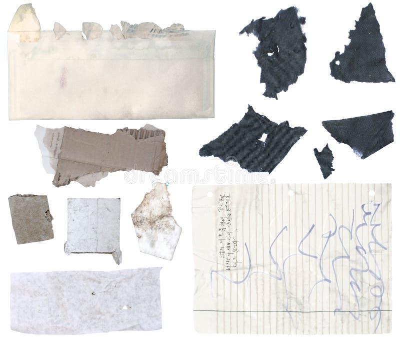 Сорванная бумага 1 стоковое изображение