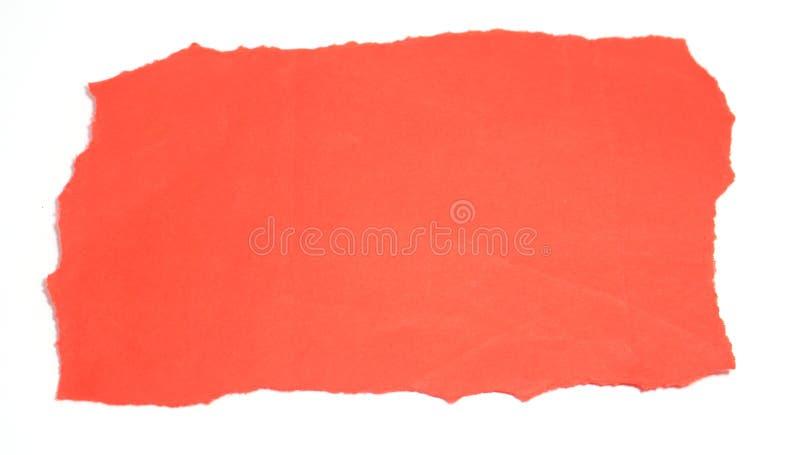 Сорванная бумага стоковые изображения rf