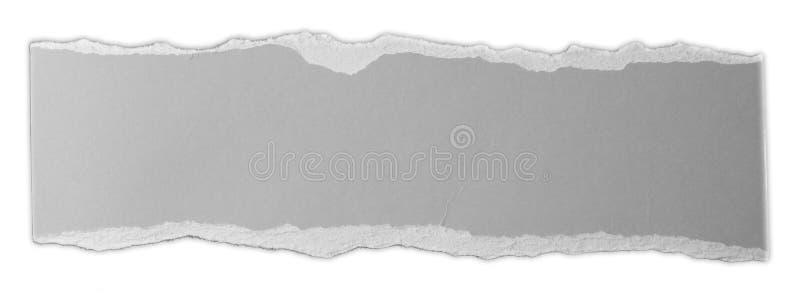 Сорванная бумажная часть стоковая фотография rf