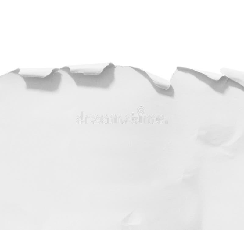 Сорванная и сорванная бумага стоковое изображение rf