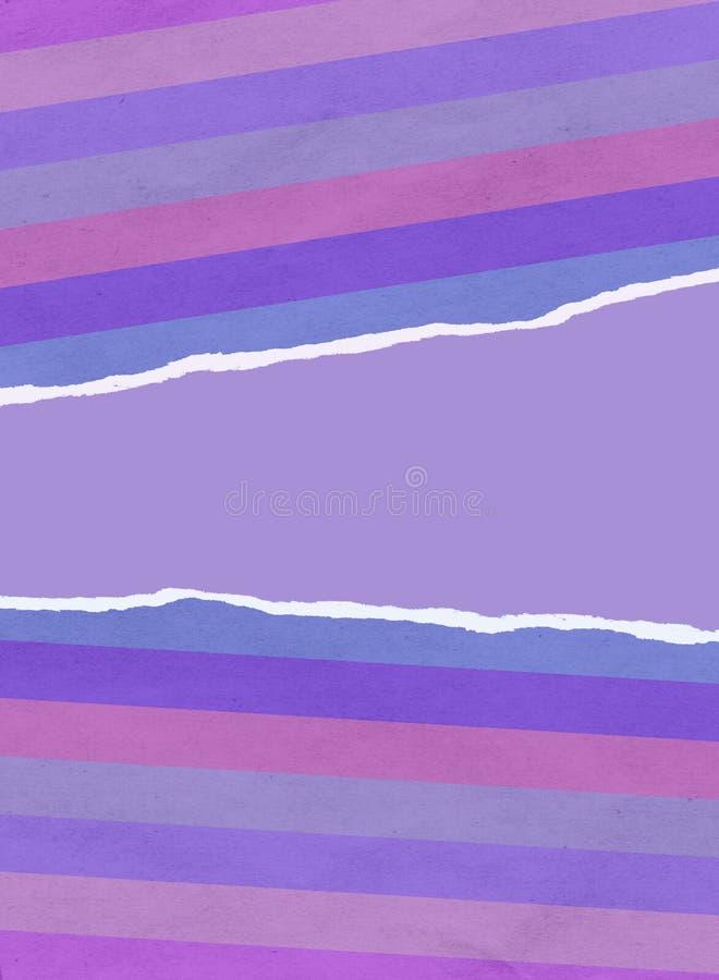 Сорванная упаковочная бумага рождества иллюстрация вектора