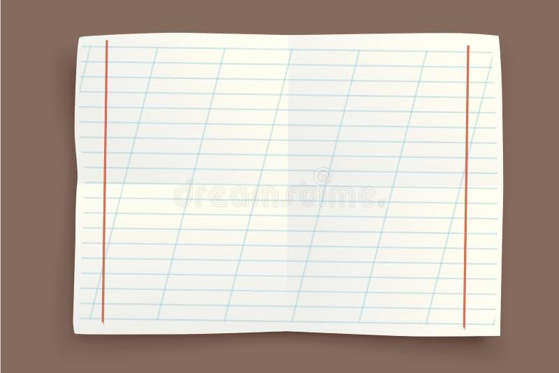 Сорванное изображение бумаги бесплатная иллюстрация