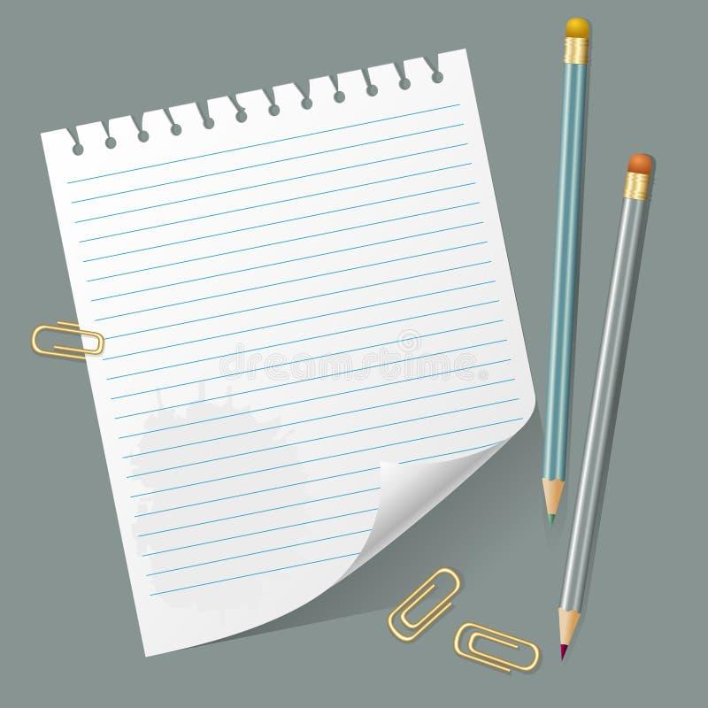 Сорванный вне вызовите и карандаши бесплатная иллюстрация