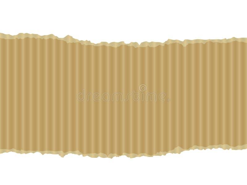 сорванный картон знамени бесплатная иллюстрация