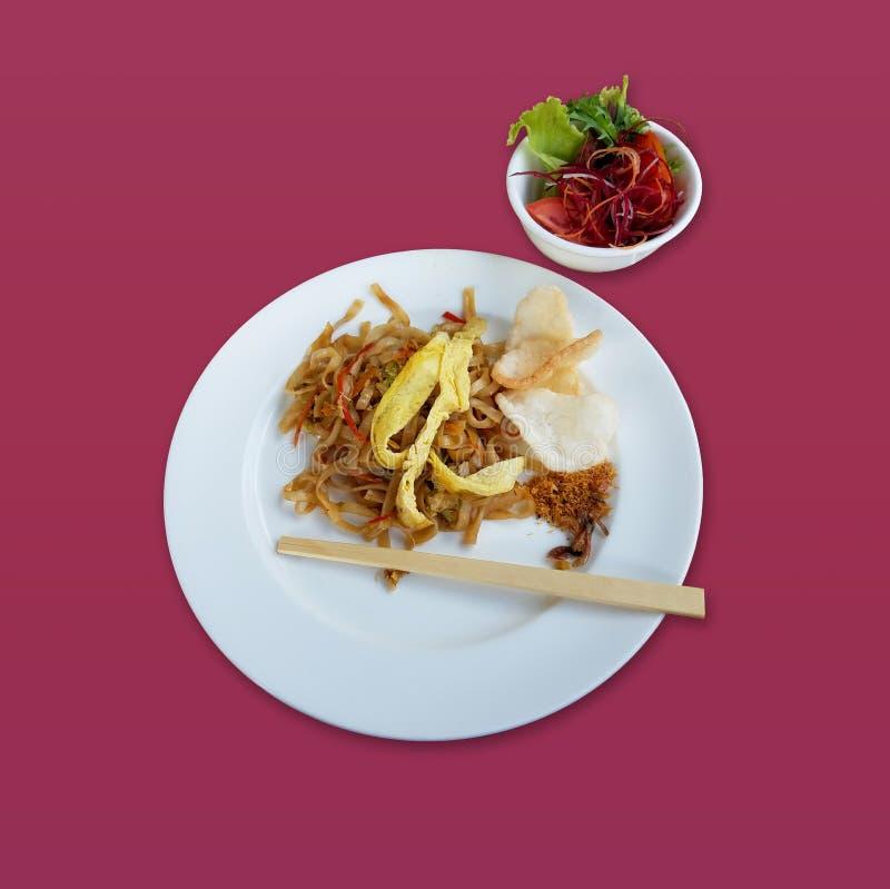 Сортированная азиатская установка завтрака еды стоковое изображение rf