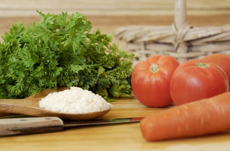 сортированная еда здоровая стоковое изображение rf