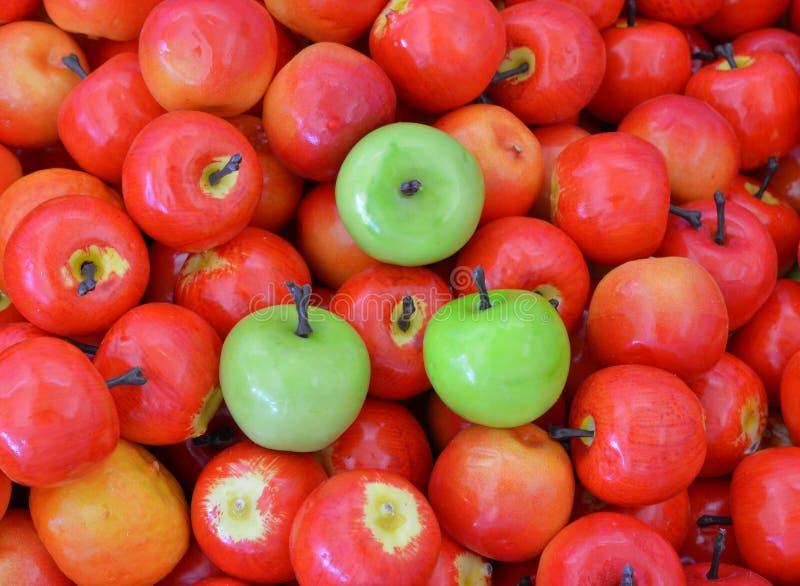 Сортированные искусственные плодоовощи стоковая фотография rf
