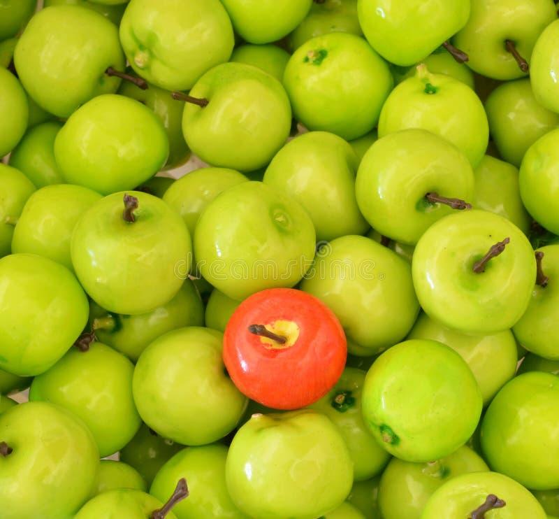 Сортированные искусственные плодоовощи стоковое изображение rf