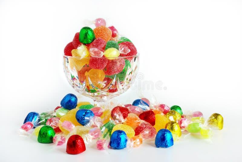 сортированные конфеты стоковые фотографии rf