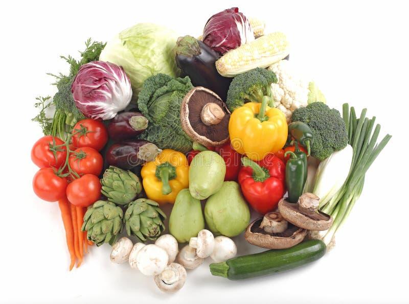 сортированные свежие овощи стоковое изображение rf