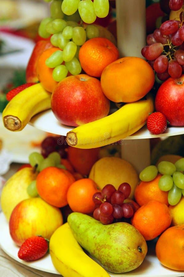 сортированные свежие фрукты стоковые изображения