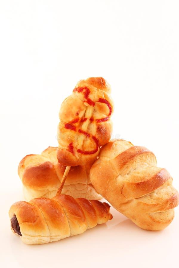 сортированные хлебы стоковые изображения rf