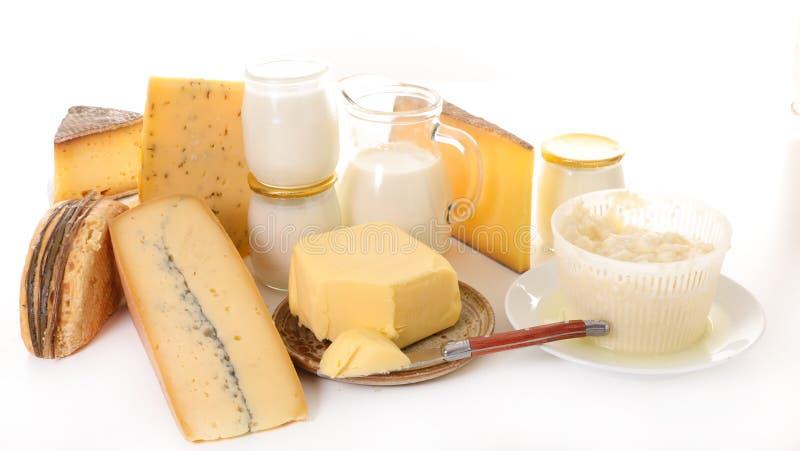 Сортированный молочный продучт стоковое фото rf