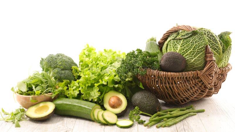 Сортированный свежий овощ стоковые изображения rf