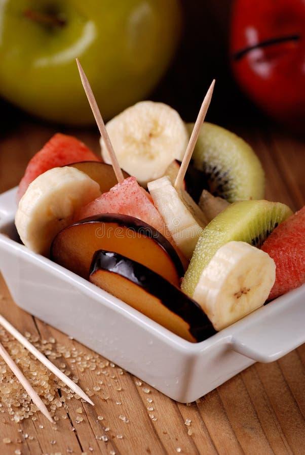 Сортированный фруктовый салат стоковое фото rf