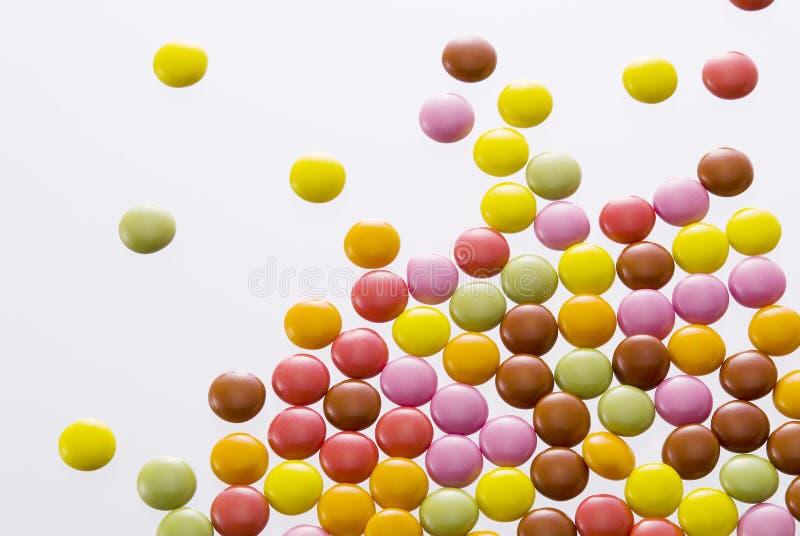 сортированный шоколад цветастый стоковые изображения