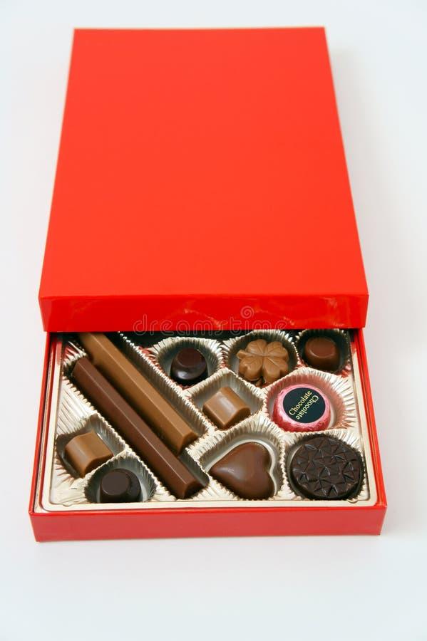 сортированный шоколад стоковые фотографии rf