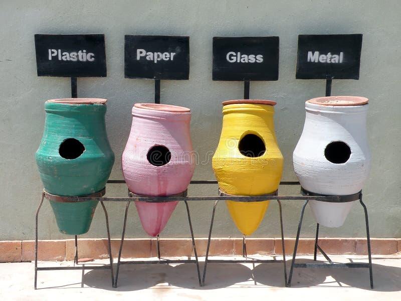 сор контейнеров керамики стоковое фото rf