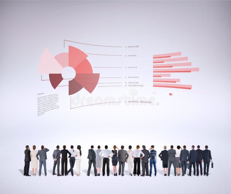 Составное изображение вид сзади многонациональных бизнесменов стоя бортовая - мимо - сторона стоковые изображения rf