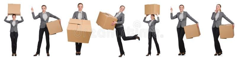 Составное изображение женщины стоковое изображение