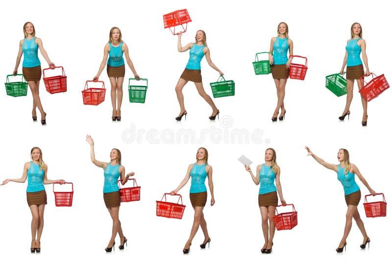 Составное фото женщины стоковые фотографии rf