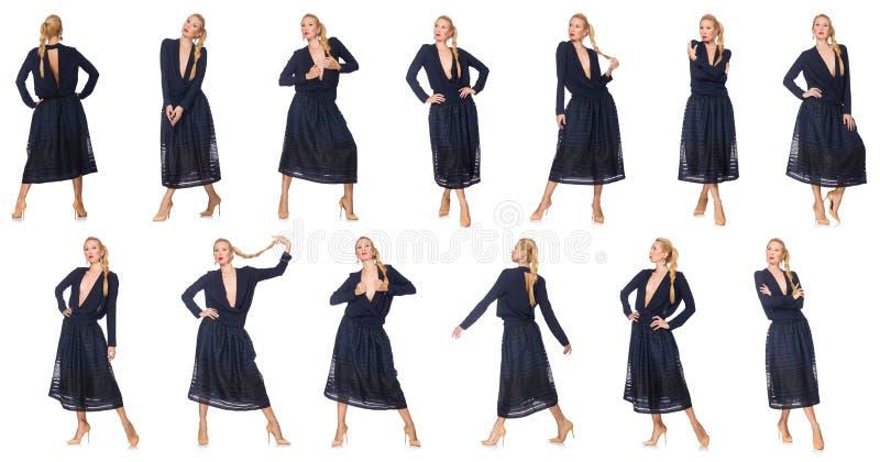 Составное фото женщины стоковая фотография
