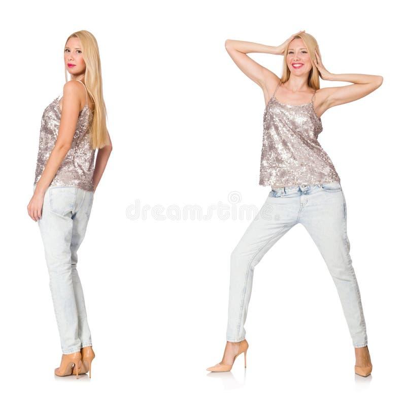 Составное фото женщины стоковое фото