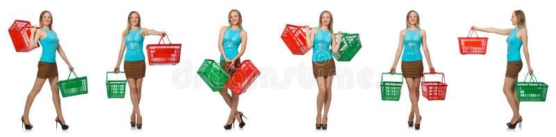 Составное фото женщины стоковые фото