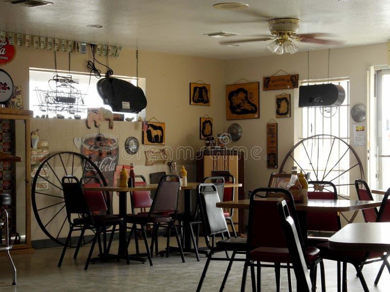 Составной ресторан изображения в пустыне стоковая фотография rf