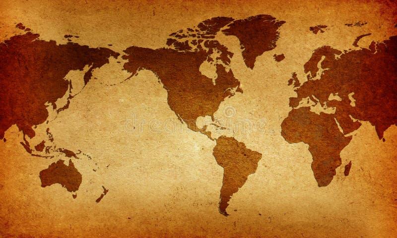 составьте карту Старый Мир иллюстрация вектора