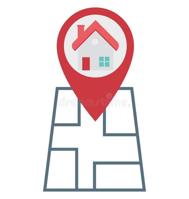 Составьте карту Pin, значки вектора положения изолированные Pin смогите быть доработайте с любым стилем бесплатная иллюстрация