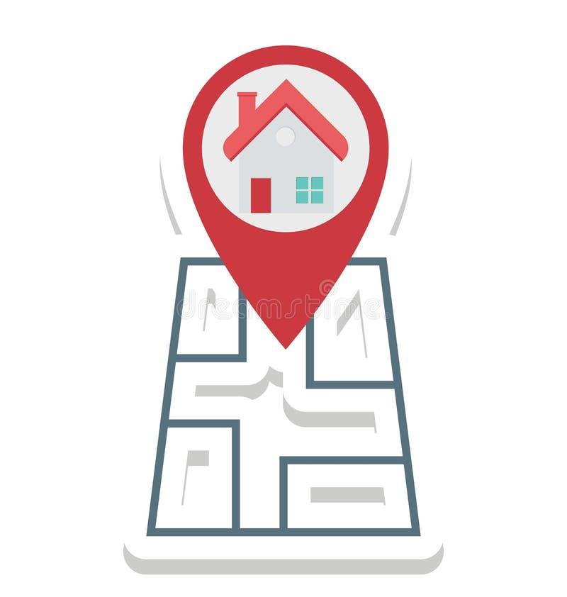 Составьте карту Pin, значки вектора положения изолированные Pin смогите быть доработайте с любым стилем иллюстрация штока