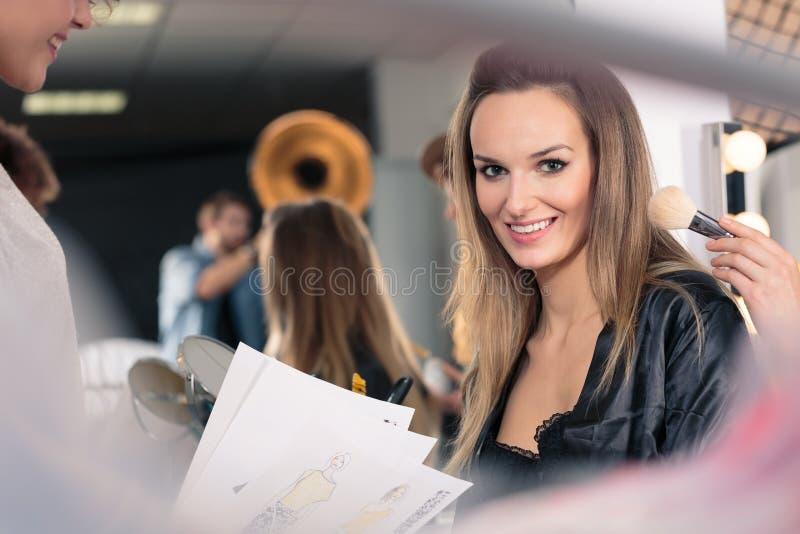 Составьте перед встречей стоковое фото