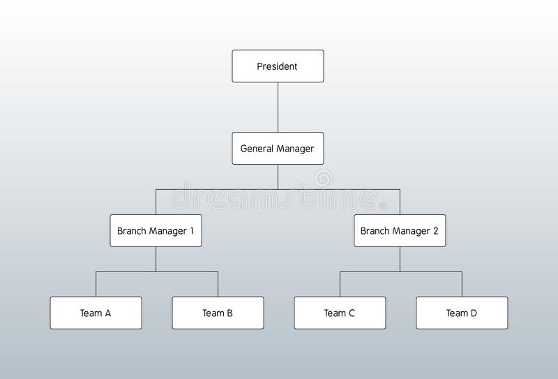 составьте схему организации бесплатная иллюстрация
