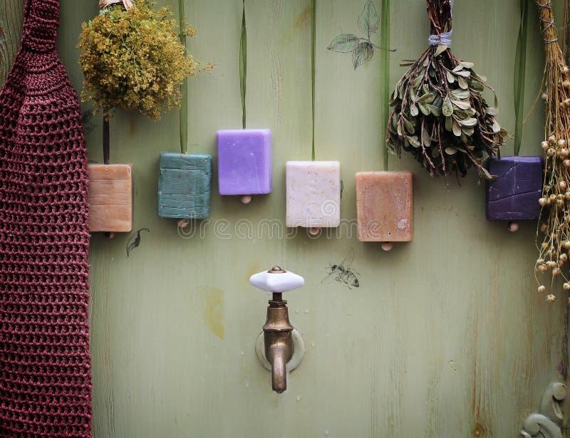 Состав ванной комнаты стоковые фотографии rf