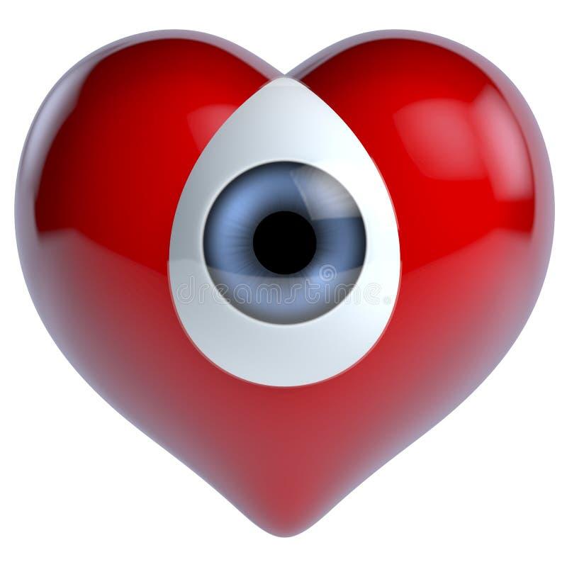 Состав глаза сердца бесплатная иллюстрация
