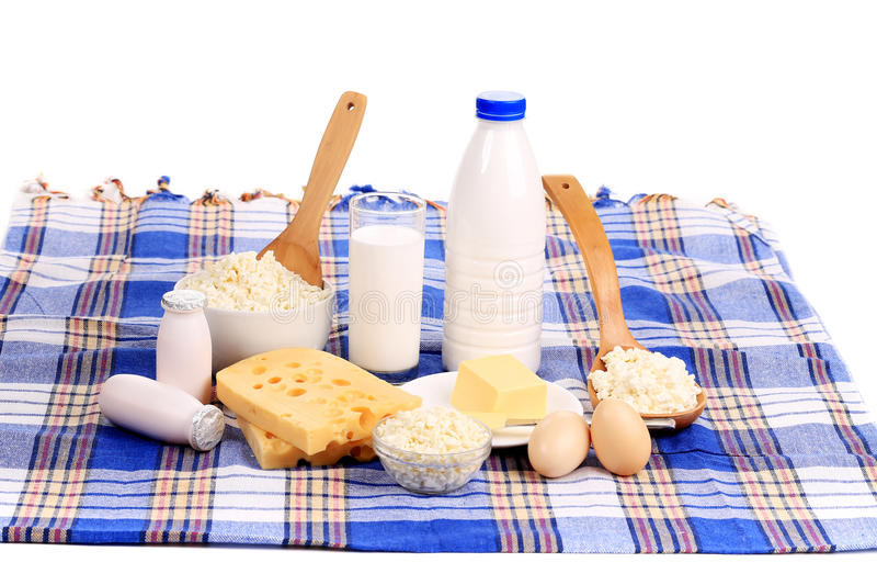 Состав здоровых продуктов завтрака. стоковое фото