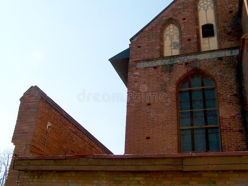 Состав Калининграда собора архитектурноакустический Дом фото стоковая фотография
