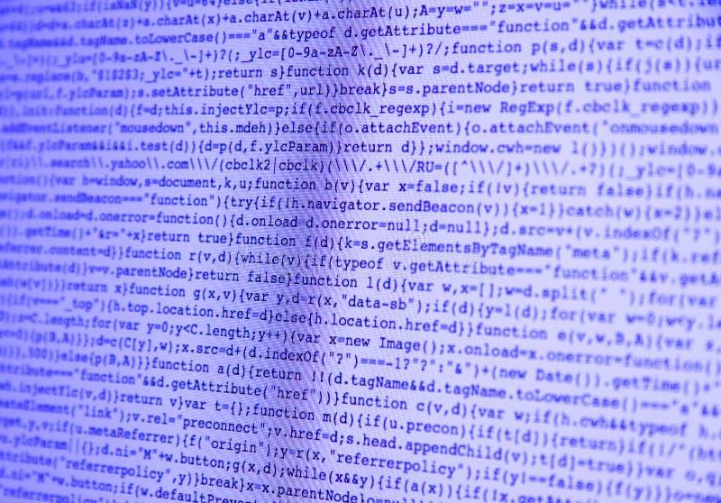 Download Состав команд вычислительной машины на пурпуре экрана Стоковое Изображение - изображение насчитывающей проявитель, интернет: 81809619