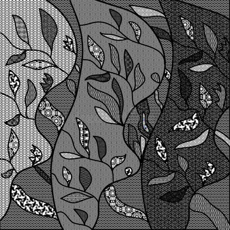 Состав орнамента картины стоковое фото rf