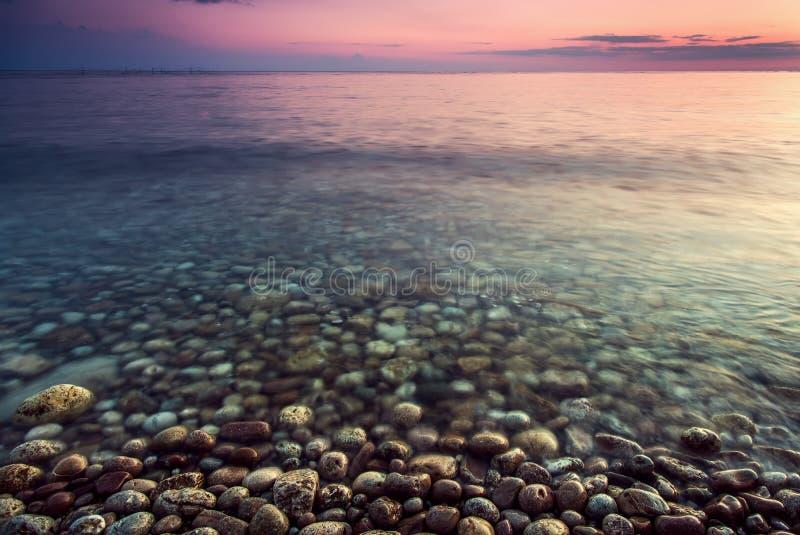 Состав природы захода солнца стоковое фото rf