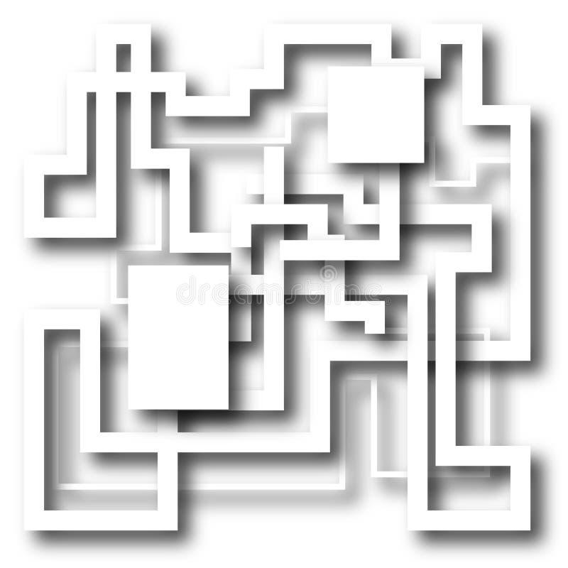 Состав пути иллюстрация штока