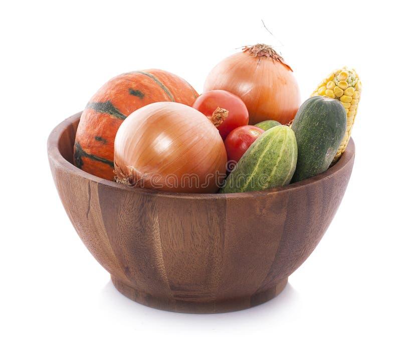 Состав с разнообразием сырцовых органических овощей и плодоовощей B стоковое изображение
